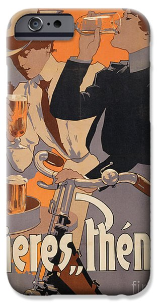 Poster Advertising Phenix Beer IPhone 6s Case by Adolf Hohenstein