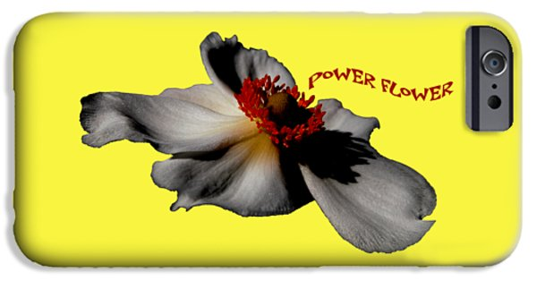 iPhone 6s Case - Power Flower Anemone by Orphelia Aristal