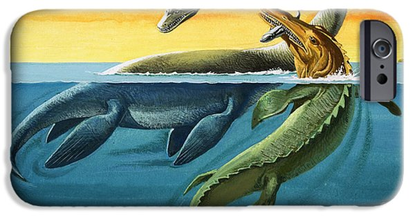 Prehistoric Creatures In The Ocean IPhone 6s Case