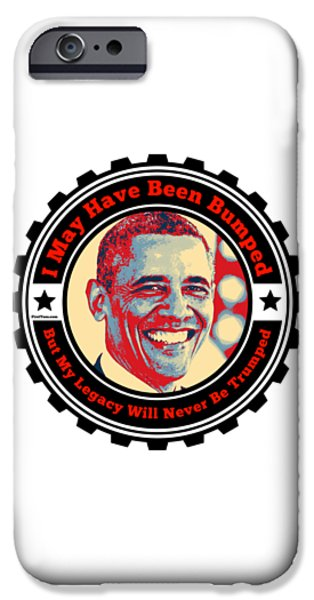 Joe Biden iPhone 6s Case - President Barack Obama  by Firsttees Motivational Artwork