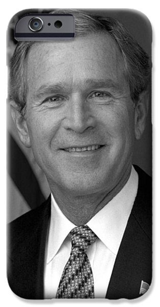 George Bush iPhone 6s Case - President George W. Bush by War Is Hell Store