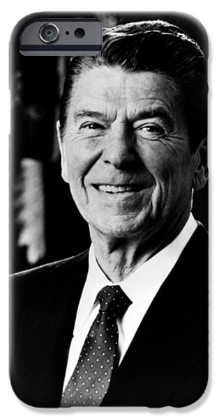 Politicians iPhone 6s Case - President Ronald Reagan by International  Images
