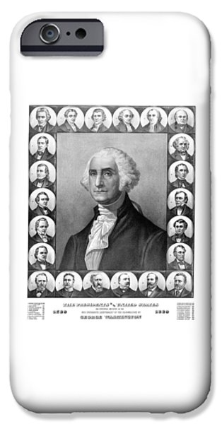 Presidents Of The United States 1789-1889 IPhone 6s Case by War Is Hell Store