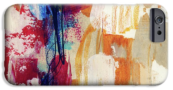 Contemporary iPhone 6s Case - Primary 2- Abstract Art By Linda Woods by Linda Woods