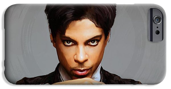 Prince IPhone 6s Case by Paul Tagliamonte