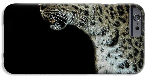 Leopard iPhone 6s Case - Prowl by Paul Neville
