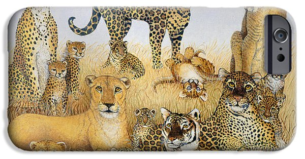 The Big Cats IPhone 6s Case