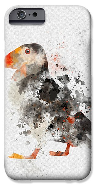 Puffin iPhone 6s Case - Puffin by Rebecca Jenkins
