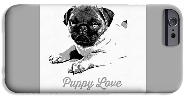 Puppy Love IPhone 6s Case by Edward Fielding