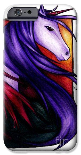 Purple Unicorn With Fairy Friend IPhone 6s Case