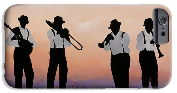 Jazz iPhone 6s Case - Quattro by Guido Borelli