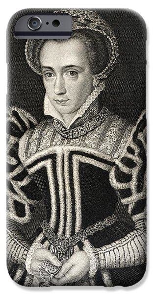 Queen Mary Aka Mary Tudor Byname Bloody IPhone 6s Case by Vintage Design Pics