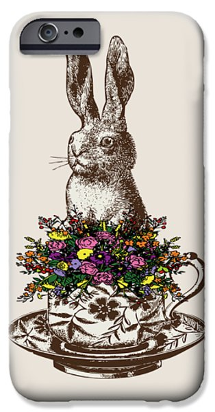 Rabbit In A Teacup IPhone 6s Case