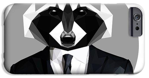 Raccoon IPhone 6s Case by Gallini Design