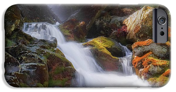 IPhone 6s Case featuring the photograph Race Brook Falls 2017 Square by Bill Wakeley