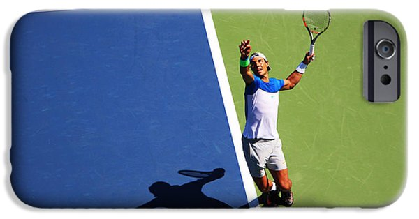 Venus Williams iPhone 6s Case - Rafeal Nadal Tennis Serve by Nishanth Gopinathan
