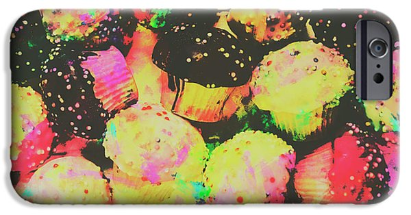 Fairy iPhone 6s Case - Rainbow Color Cupcakes by Jorgo Photography - Wall Art Gallery