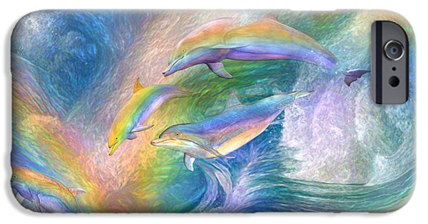 Rainbow Dolphins IPhone 6s Case