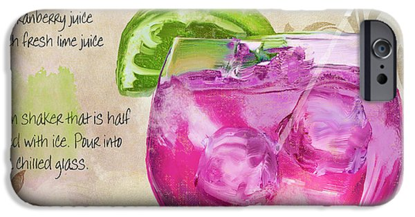 Rasmopolitan Mixed Cocktail Recipe Sign IPhone 6s Case by Mindy Sommers
