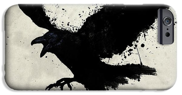 Animals iPhone 6s Case - Raven by Nicklas Gustafsson