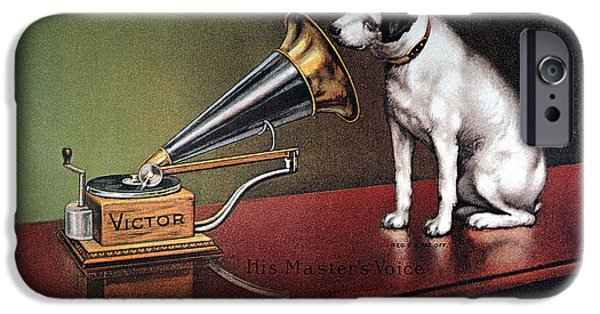 Dog iPhone 6s Case - Rca Victor Trademark by Granger