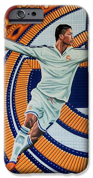 Real Madrid Painting IPhone 6s Case