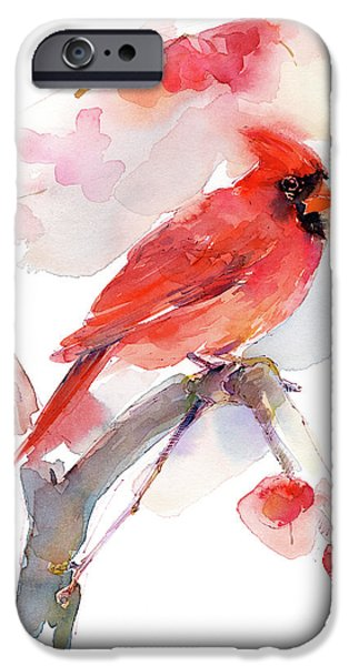 Red Cardinal IPhone 6s Case