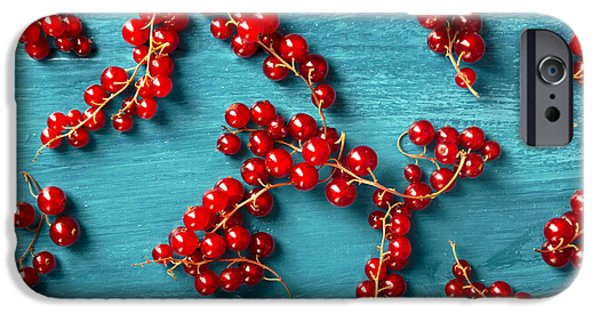 Blue Berry iPhone 6s Case - Red Currant by Jelena Jovanovic