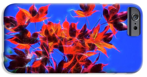 IPhone 6s Case featuring the photograph Red Maple Leaves by Yulia Kazansky