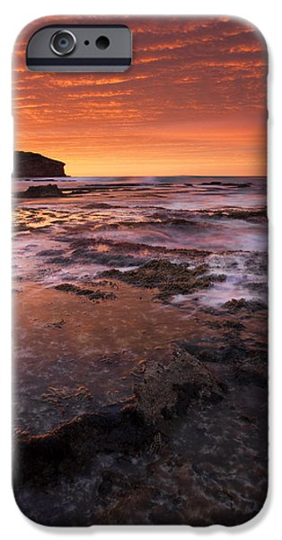 Kangaroo iPhone 6s Case - Red Tides by Mike  Dawson