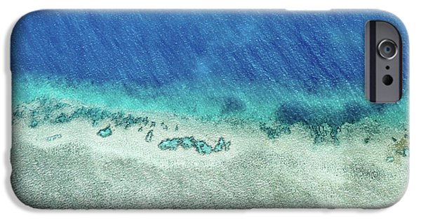 Teal iPhone 6s Case - Reef Barrier by Az Jackson