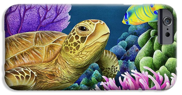 Scuba Diving iPhone 6s Case - Reef Buddies by MGL Meiklejohn Graphics Licensing