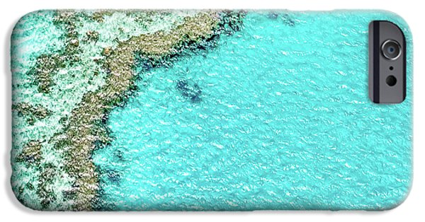 Teal iPhone 6s Case - Reef Textures by Az Jackson