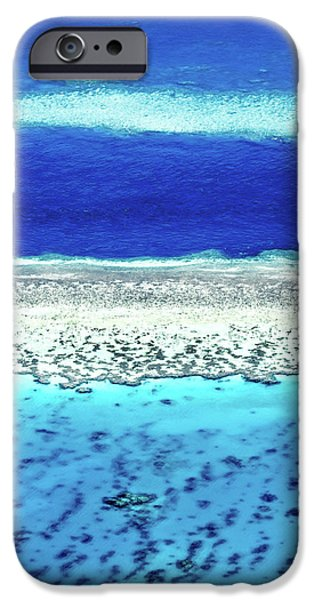 Teal iPhone 6s Case - Reefs Edge by Az Jackson