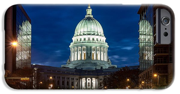 Capitol Building iPhone 6s Case - Reflection Surrounded by Todd Klassy