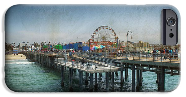 Santa Monica iPhone 6s Case - Remember Those Days by Laurie Search