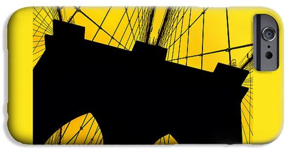 Brooklyn Bridge iPhone 6s Case - Retro Arches by Az Jackson