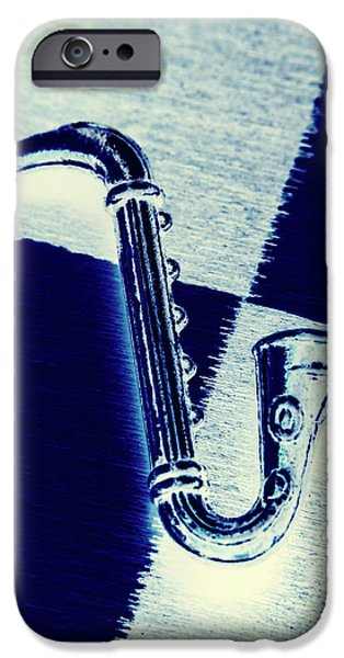 Saxophone iPhone 6s Case - Retro Blues by Jorgo Photography - Wall Art Gallery