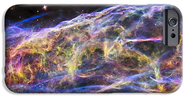 IPhone 6s Case featuring the photograph Revisiting The Veil Nebula by Adam Romanowicz