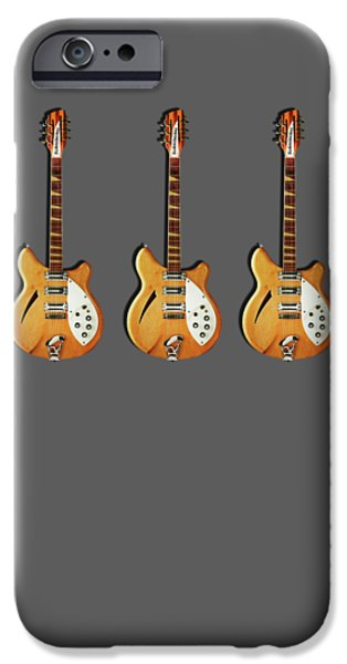 Rickenbacker 360 12 1964 IPhone 6s Case by Mark Rogan
