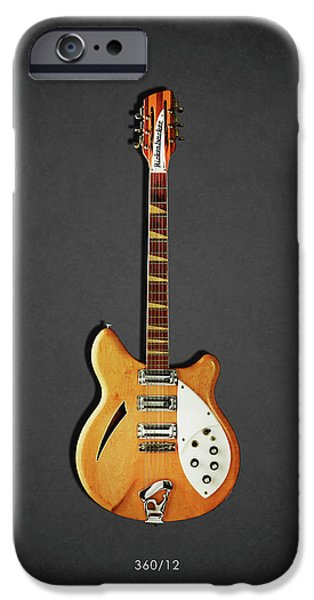 Jazz iPhone 6s Case - Rickenbacker 360 12 1964 by Mark Rogan