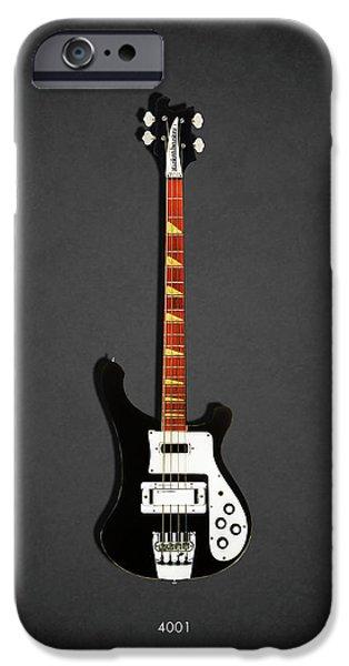 Guitar iPhone 6s Case - Rickenbacker 4001 1979 by Mark Rogan