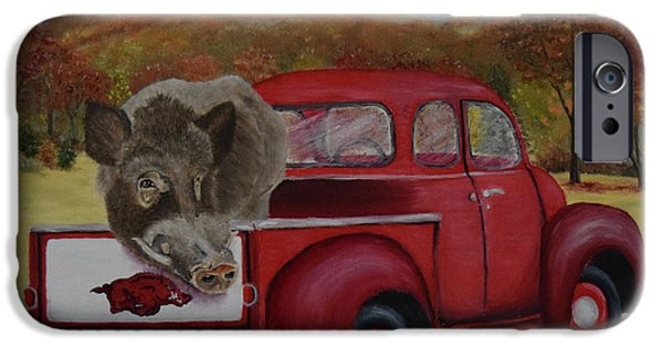 Ridin' With Razorbacks IPhone 6s Case by Belinda Nagy
