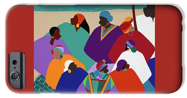 iPhone 6s Case - Ring Shout Gullah Islands by Synthia SAINT JAMES