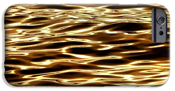 Surrealism iPhone 6s Case - River Of Gold by Az Jackson