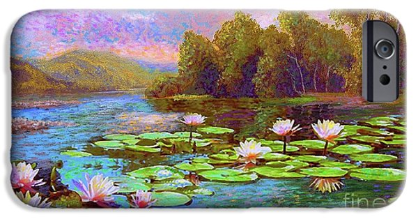 Lily iPhone 6s Case - The Wonder Of Water Lilies by Jane Small