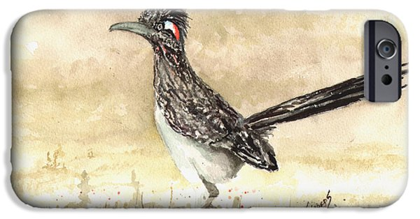 Roadrunner IPhone 6s Case by Sam Sidders