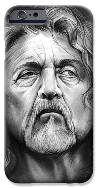Robert Plant IPhone 6s Case by Greg Joens