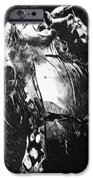 Robert Plant iPhone 6s Case - Robert Plant by Taylan Apukovska