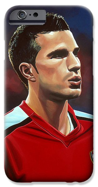 Robin Van Persie IPhone 6s Case by Paul Meijering